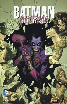 Il manicomio del Joker. Batman. Vol. 1 - J. Aaron,J. Harris - copertina
