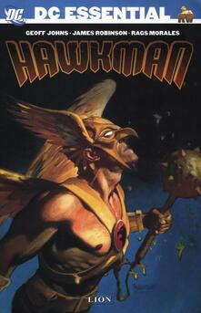 Hawkman - Geoff Johns,James Robinson,Rags Morales - copertina