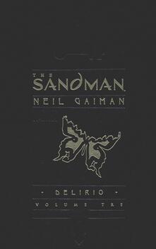 Delirio. The sandman. Vol. 3 - Neil Gaiman - copertina