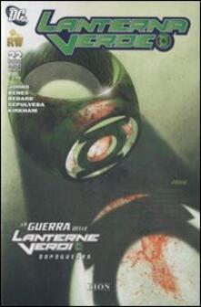Recuperandoiltempo.it La guerra delle lanterne verdi-Dopoguerra. Lanterna verde. Vol. 22 Image