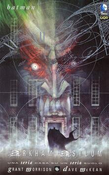 Arkham Asylum. Batman - Grant Morrison,Dave McKean - copertina