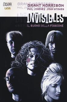 Il suono della fissione. The Invisibles. Vol. 5 - Grant Morrison,Phil Jimenez,John Stokes - copertina