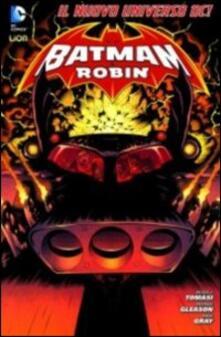 Batman e Robin. Variant. Vol. 1 - Peter J. Tomasi,Patrick Gleason,Mick Gray - copertina