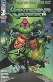 Lanterna Verde. Ediz. variant. Vol. 1 - copertina