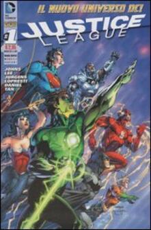 Justice League. Ediz. variant. Vol. 1 - copertina