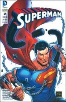 Superman. Ediz. variant. Vol. 2 - copertina