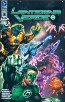Lanterna Verde. Ediz. variant. Vol. 2 - copertina