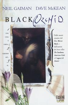Black orchid - Neil Gaiman,Dave McKean - copertina