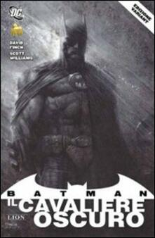 Batman, il cavaliere oscuro. Comicon variant - David Finch,Scott Williams - copertina