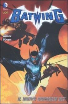 Batwing. Vol. 1 - Judd Winick,Ben Oliver - copertina