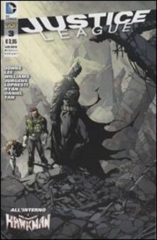Justice League. Ediz. variant. Vol. 3 - copertina