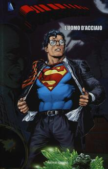 L' uomo d'acciaio. Superman. Vol. 1 - Geoff Johns,Gary Frank - copertina