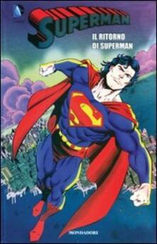 Il ritorno di Superman. Superman. Vol. 8 - copertina