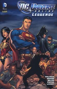 DC Universe online: leggende. Vol. 3 - copertina