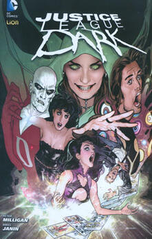Justice League Dark. Vol. 1 - copertina