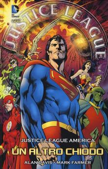 Un altro chiodo. Justice League America - Alan Davis - copertina