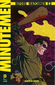 Minutemen. Before watchmen. Vol. 2 - Darwin Cooke - copertina