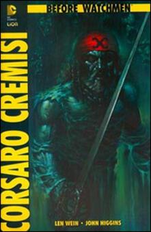 Winniearcher.com Corsaro Cremisi. Before Watchmen Image