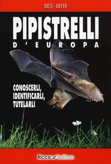 Pipistrelli dEuropa. Conoscerli, identificarli, tutelarli.pdf