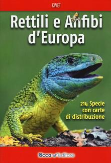 Radiospeed.it Rettili e anfibi d'Europa Image