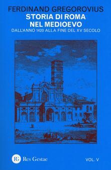 Antondemarirreguera.es Storia di Roma nel Medioevo. Vol. 5: Dall'anno 1420 alla fine del XV secolo. Image