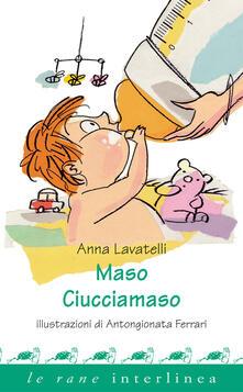Listadelpopolo.it Maso ciucciamaso. Ediz. illustrata Image