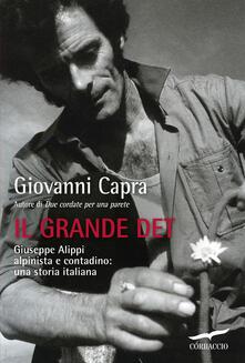 Il grande Det. Giuseppe Alippi alpinista e contadino: una storia italiana - Giovanni Capra - copertina