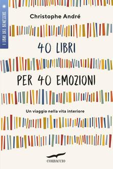 Premioquesti.it 40 libri per 40 emozioni. Un viaggio nella vita interiore Image