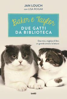 Winniearcher.com Baker & Taylor, due gatti da biblioteca Image