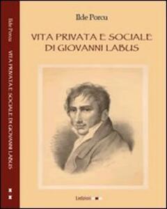 Vita privata e sociale di Giovanni Labus