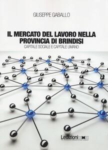Il mercato del lavoro nella provincia di Brindisi. Capitale sociale e capitale umano