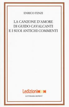 Librisulladiversita.it La canzone d'amore di Guido Cavalcanti e i suoi antichi commenti Image