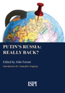 Putin's Russia: really back?