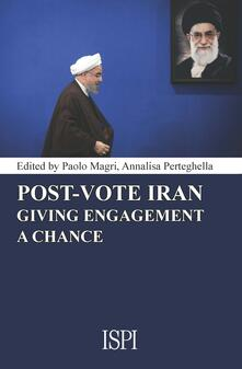 Post-vote Iran: giving engagement a chance