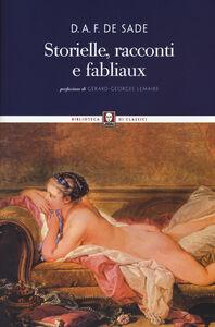 Libro Storielle, racconti e fabliaux François de Sade