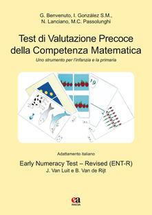 Promoartpalermo.it Test di valutazione precoce della competenza matematica. Uno strumento per l'infanzia e la primaria. Con gadget. Con 45 Carte Image