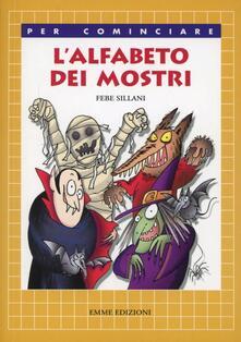 L' alfabeto dei mostri - Febe Sillani - copertina
