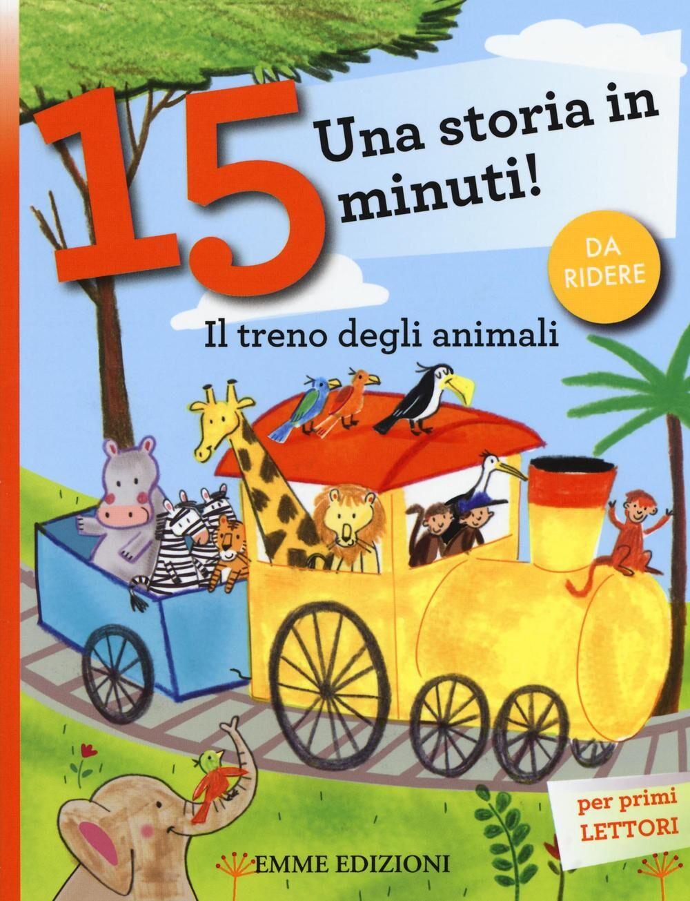 Il treno degli animali. Una storia in 15 minuti!