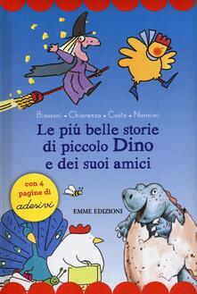 Equilibrifestival.it Le più belle storie di piccolo Dino e dei suoi amici. Con adesivi. Ediz. a colori Image