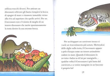 Marini mostruosi. Dinosauri da paura. Ediz. a colori - Febe Sillani - 2