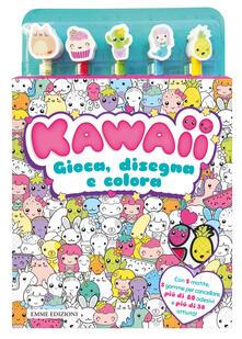 Daddyswing.es Kawaii. Gioca. disegna e colora. Con adesivi. Con gadget Image