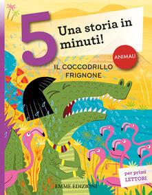 Antondemarirreguera.es Il coccodrillo frignone. Una storia in 5 minuti! Image
