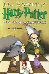 Foto Cover di Harry Potter e la pietra filosofale, Libro di J. K. Rowling, edito da Salani