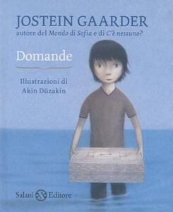 Domande - Jostein Gaarder,Akin Düzakin - copertina