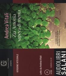 Grandtoureventi.it Zia Antonia sapeva di menta letto da Andrea Vitali. Audiolibro. 3 CD Audio. Ediz. integrale Image