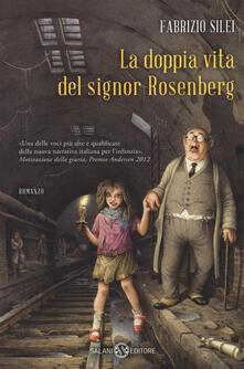 La doppia vita del signor Rosenberg - Fabrizio Silei - copertina