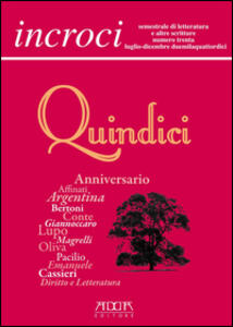 Incroci. Vol. 30 - Raffaele Nigro,Lino Angiuli,Daniele Maria Pegorari - copertina