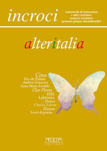 Incroci. Vol. 33 - Raffaele Nigro,Lino Angiuli,Daniele Maria Pegorari - copertina