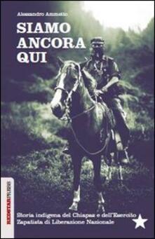 Parcoarenas.it Siamo ancora qui. Storia indigena del Chiapas e dell'Esercito zapatista di Liberazione Nazionale Image