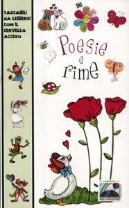 Poesie e rime. Ediz. illustrata - copertina